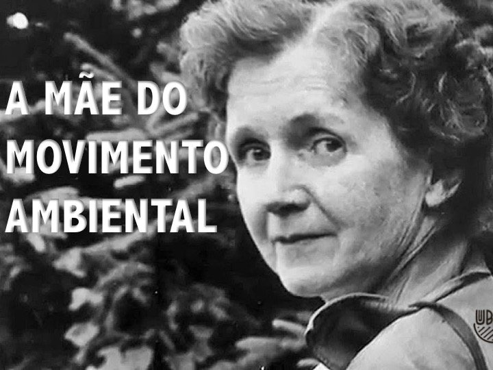 A mãe do movimento ambiental